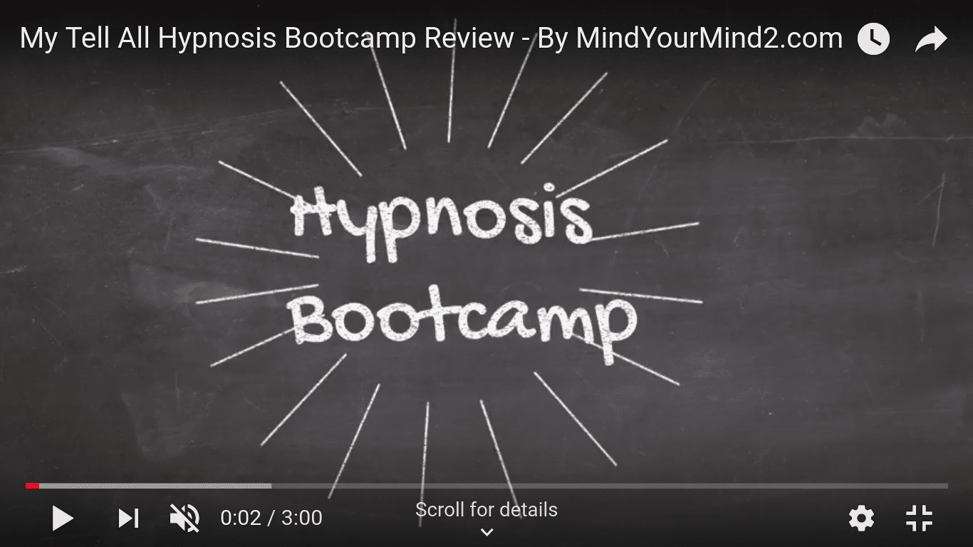 Hypnosis Bootcamp Review- THE REFRESHING YOU!!! | UPDATED