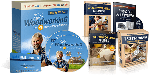 Ted's Woodworking PDF