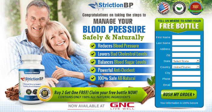 StrictionBP Review – New Breakthrough In Blood Pressure Management!!