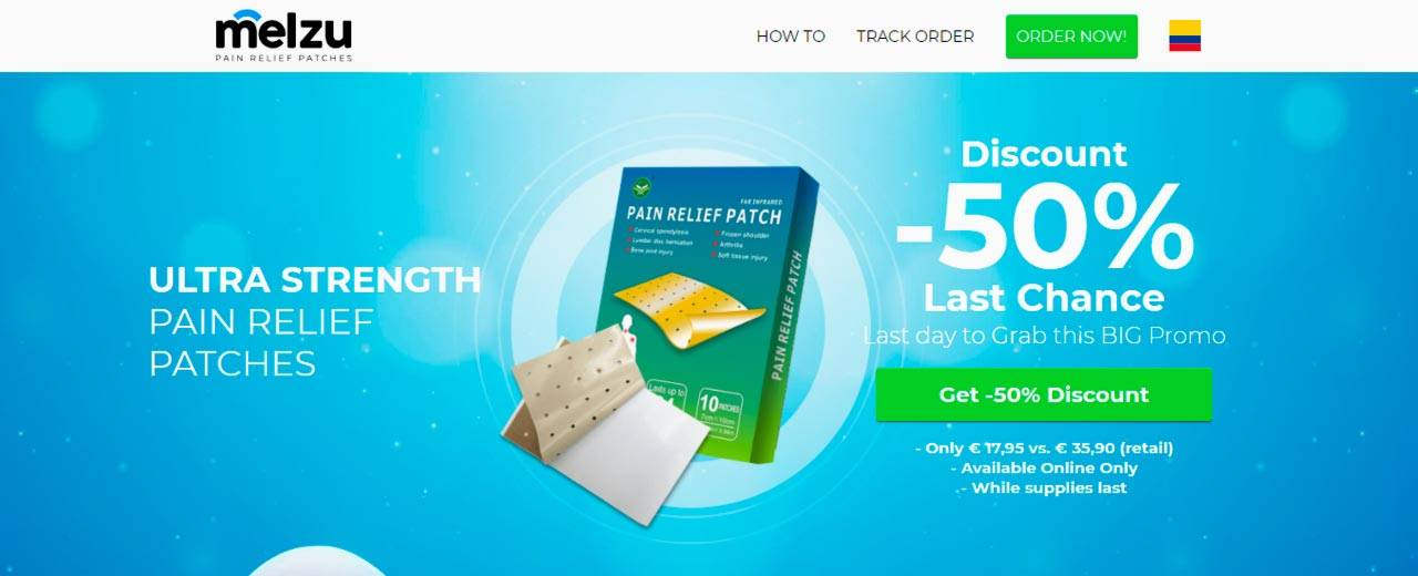 Melzu Pain Relief Patche Review